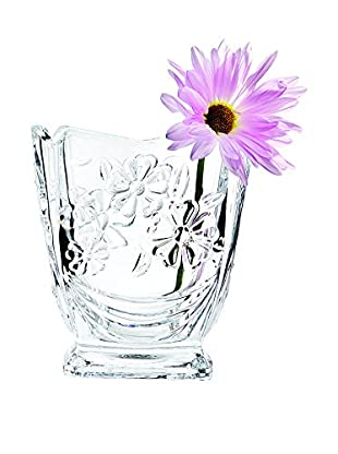 Studio Silversmiths Crystal Daisy Bud Vase