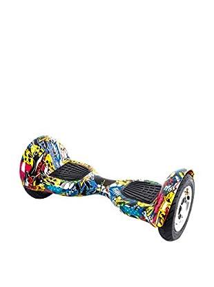 BALANCE RIDERS Skateboard Elettrico Hoverboard S10 Multicolore