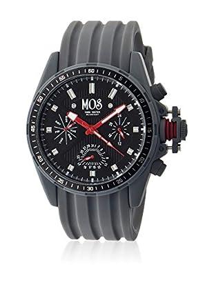 Mos Reloj con movimiento cuarzo japonés Mossm104 Gris 45  mm