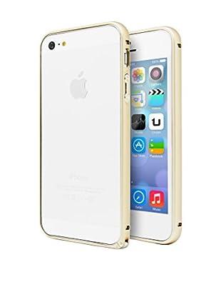 Unotec Pro Aluminium Bumper iPhone 5 goldfarben