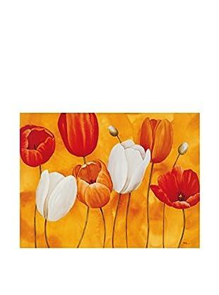 ArtopWeb Panel de Madera Luffarelli Festa di Tulipani