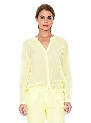 American Vintage Camisa Elegante (Amarillo)