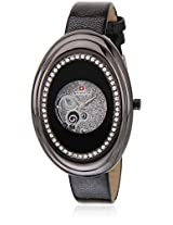 L5406 Black/Silver Analog Watch