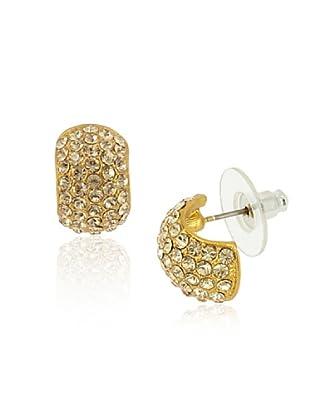 Fashion Victim Pendientes con Cristales dorado
