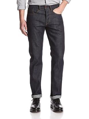 Rockstar Denim Men's Slim Fit 5 Pocket Selvedge Jeans (Raw)