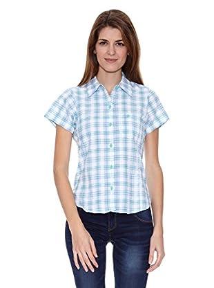 Regatta Camisa Manga Corta Jenna (Azul)