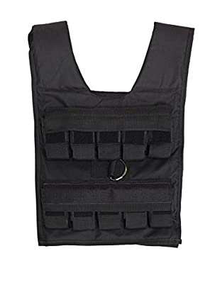 Body Solid 20 lbs. Weighted Vest, Black