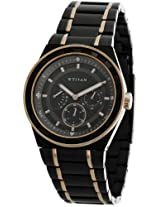 Titan Analog Black Dial Men's Watch - NE9453KM02J