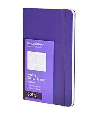 Moleskine 2014 Agenda Grande Violeta 12M