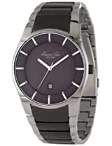 Kenneth Cole Analog Grey Dial Men's Watch IKC9036
