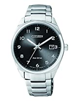 Citizen Analog Black Dial Unisex Watch - EO1170-51E