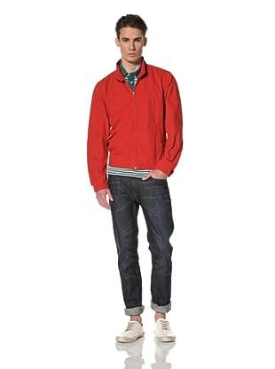 Benson Men's Woven Jacket (Red)