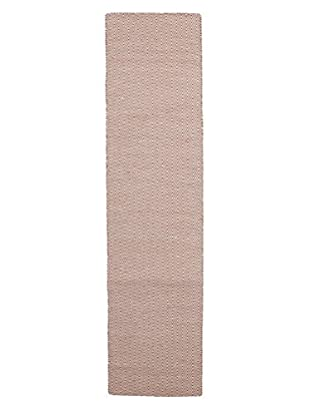 Darya Rugs Modern Oriental Rug, Red, 2' 6