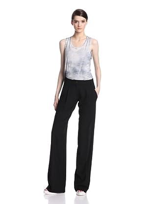 Ann Demeulemeester Women's Pleated Trouser (Black)