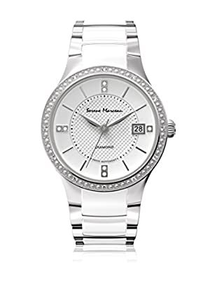 Serene Marceau Diamond Reloj de cuarzo Woman Series I Blanco 28 mm