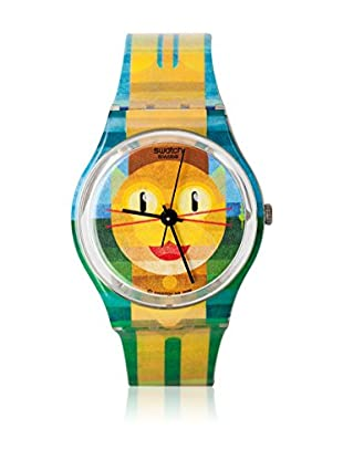 Swatch Quarzuhr Unisex Unisex BOLD CAT 2 GE231 34.0 mm