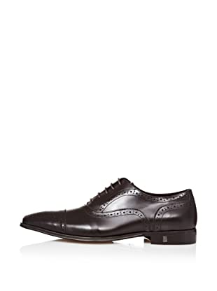 Versace Zapatos Oxford (Chocolate)