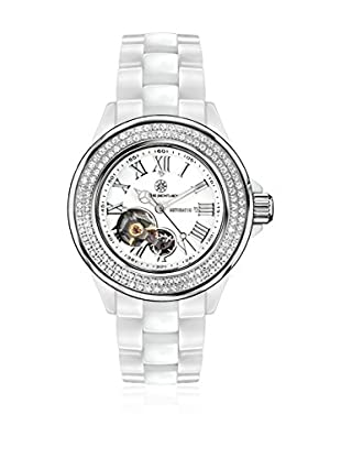 Mathis Montabon Reloj automático Woman La Belle Blanco 38 mm