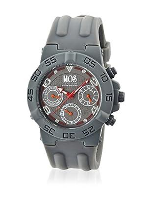 Mos Reloj con movimiento cuarzo japonés Mosam105 Gris 44  mm