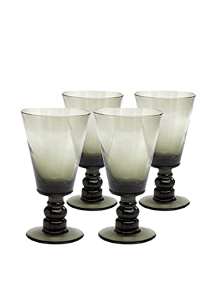 Impulse! Set of 4 Roma 12-Oz. Goblets, Smoke