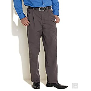 Scullers Dark Grey Comfy All Day Chinos