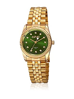 August Steiner Reloj de cuarzo Woman AS8170GN Dorado 30 mm