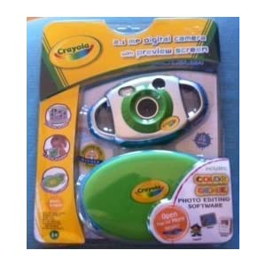 Crayola 2.1 Mp Digital Camera with Preview Screen & Color Genie Photo Editing Software!