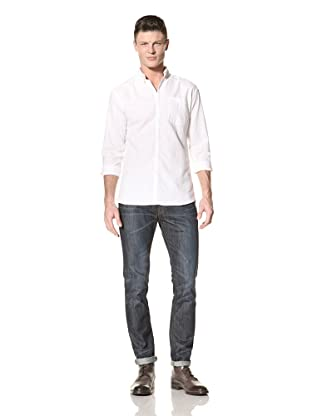 Fremont Men's ACE Pocket Woven Shirt (White)