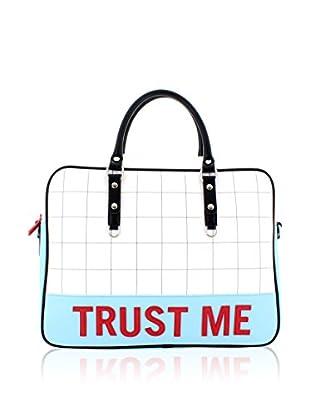 davidelfin Bolso asa de mano Trust Bag Blanco