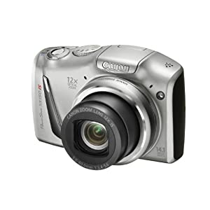 Canon PowerShot SX150 14.0MP Point and Shoot Camera (Silver) with 12x Optical Zoom