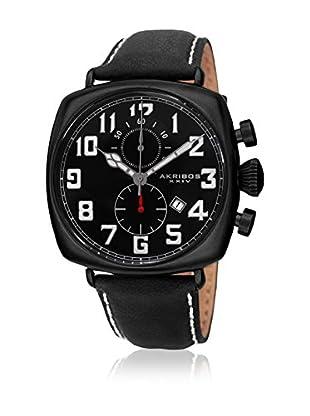 Akribos XXIV Reloj con movimiento cuarzo japonés Man AK786BK 46 mm
