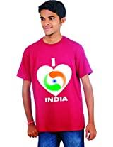 BLISSS Men's T-Shirt - i_Love_Indiaxl
