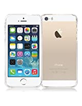 iPhone SE Case, [Low Profile] for Apple iPhone 5SE, [Transparent] MERCURY® Jelly Case TPU Case [Drop Protection] Ultra Slim TPU Case Cover [Anti-Yellowing / Discoloring Finish] - Clear