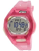 Asics Women's CQAR0804 Pink Night Run Digital Watch