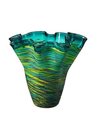 Dale Tiffany Aquamarine Vase, Multi