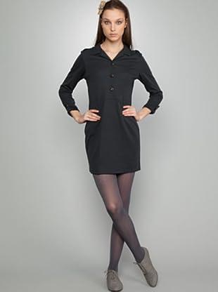 Dolores Promesas Vestido Camisero (gris oscuro)