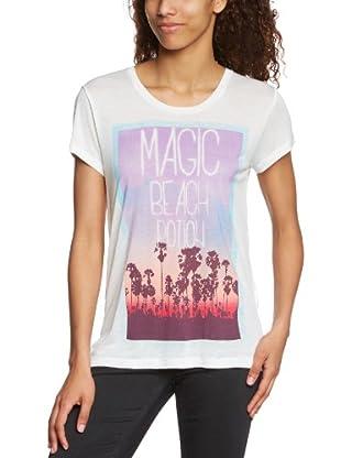Vero Moda Camiseta Sunshine Reggae (Blanco)