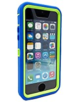 Otterbox Defender Case for iPhone 5C (Retail Packaging) Glow Green/Ocean Blue