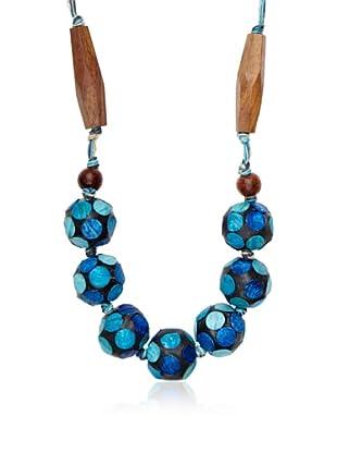 Sándalo Collar Diana (Azul)