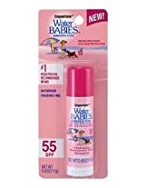 Coppertone SPF#55 Waterbabies Stick 0.6 oz. (3-Pack) with Free Nail File