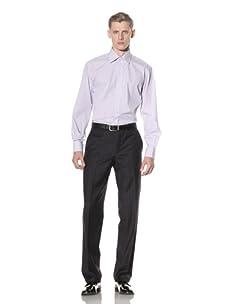 Yves Saint Laurent Men's Stripe Shirt (Pink/Blue/White)