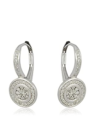 Bentelli Pendientes 9K Gold 0.30Ct Diamonds Oro Blanco