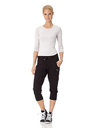 Puma Damen Hose Move 3/4 Sweat (Black)