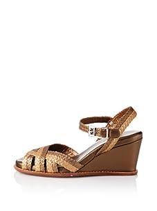 STEPHANE KELIAN Women's Candy Wedge Sandal (Bronze/Platine)