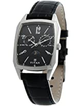 Titan Classique Analog Black Dial Men's Watch - 1617SL01