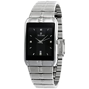 Titan Karishma Analog Black Dial Men's Watch - 9151SM02J