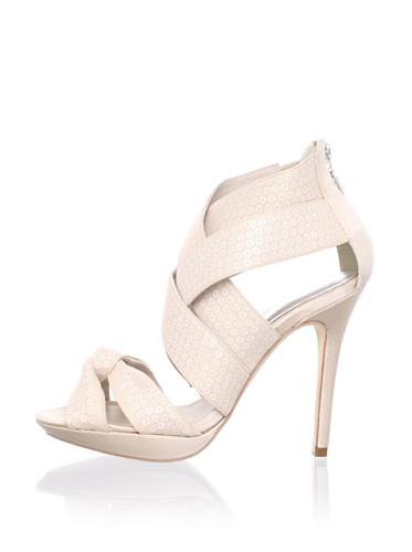 Bourne Women's Yasmin Ankle-Strap Sandal (Blush)