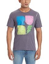 Reebok Men's Round Neck T Shirt