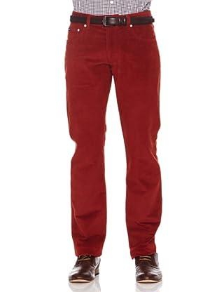 Hackett Pantalón 5 Bolsillos (Rojo)