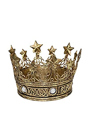 Decorative Crown with Star Accents